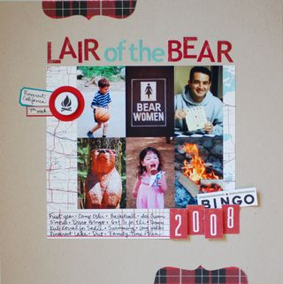 Lair of the Bear