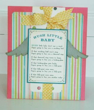 Hush Little Baby Card