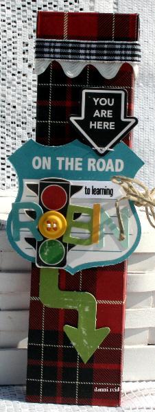 OA Road Map Pencil Box