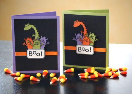 Night Light Halloween Card Set