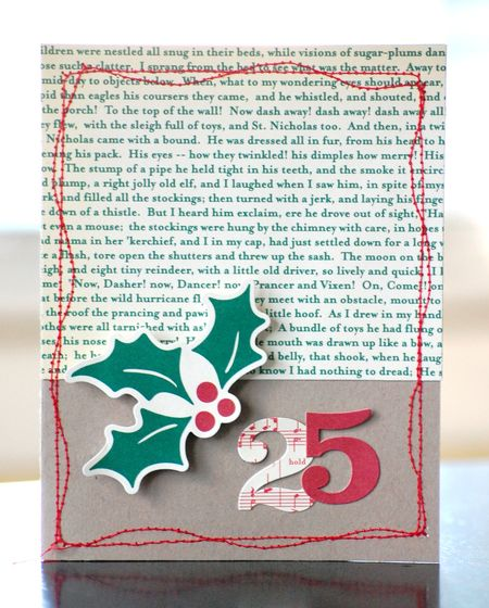 Very Merry 25 Card