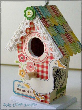 Farm fresh birdhouse sized