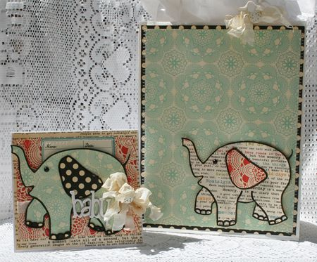 E is for elephant gift set danni reid