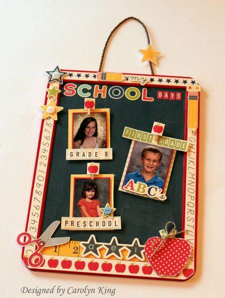 Ck school chalkboard frame 2