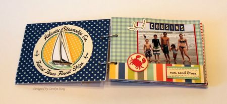CK Summer 2010 Keepsake Box album page 1-2