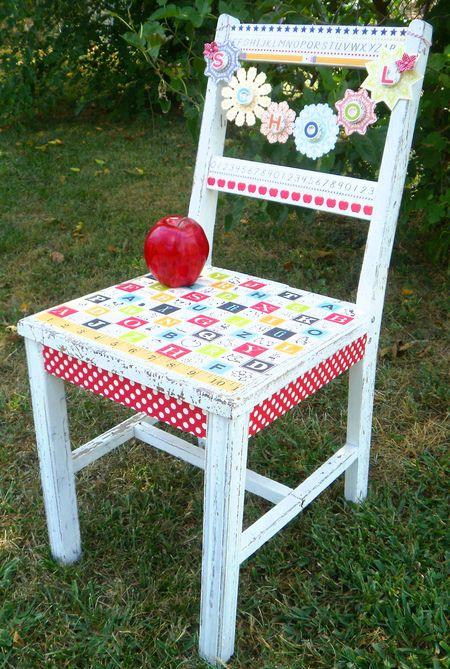 Schoolhouse Antique Chair