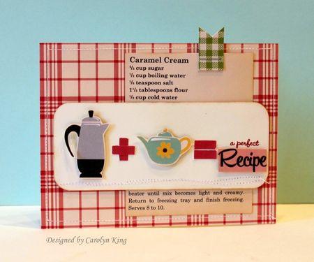 CK A Perfect Recipe
