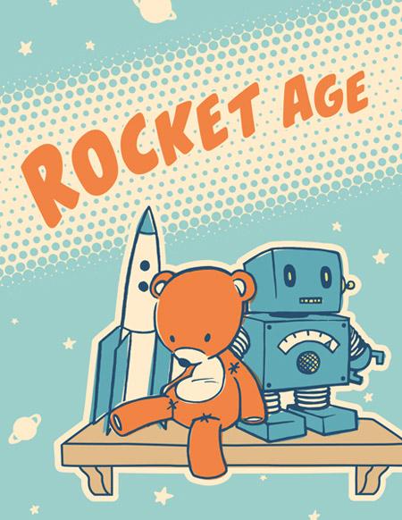 Rocket Age Poster Blog