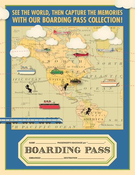 Boarding Pass Poster Blog