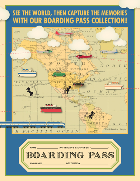 Boarding Pass Poster Blog
