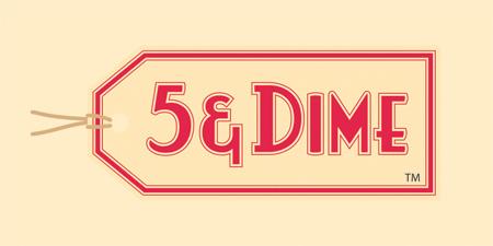 5 & Dime - Logo