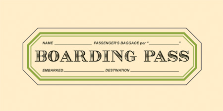 Boarding Pass - Logo