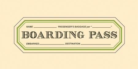 Boarding Pass - Logo