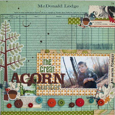 Acorn Hunter by Lexi Bridges