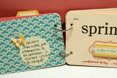 Sprinkler page - journaling