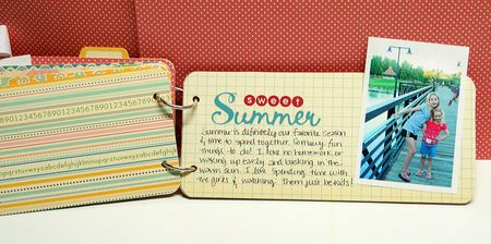 Sweet summer page