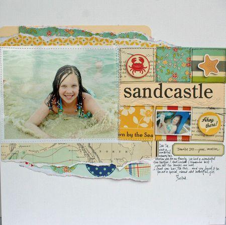 Sandcastle by Wilna Furstenberg