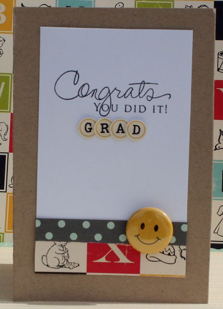 Graduation card danni reid inside