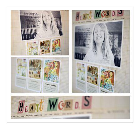 Heart wordds