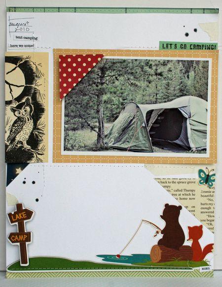 Let's Go Camping by Jen Johner