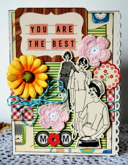Mom Card by Shawna Webster