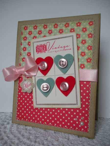 Mom Card by Suzanne Dahlberg