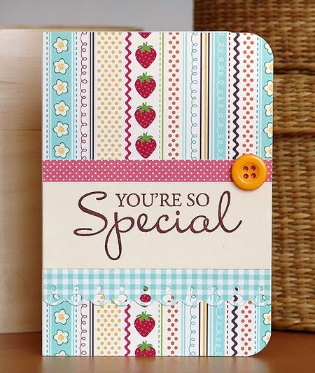 So Special Card by Marisa Maranhao