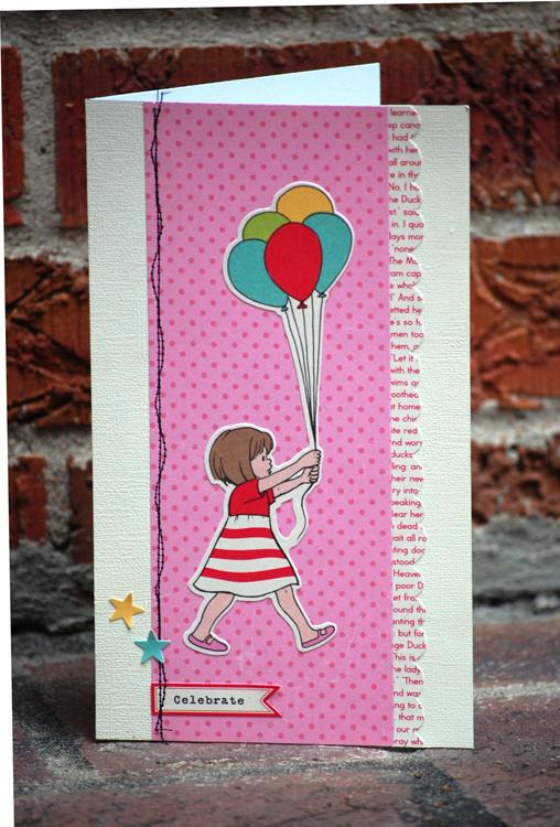 Celebrate Card - Marcy's September Sketch
