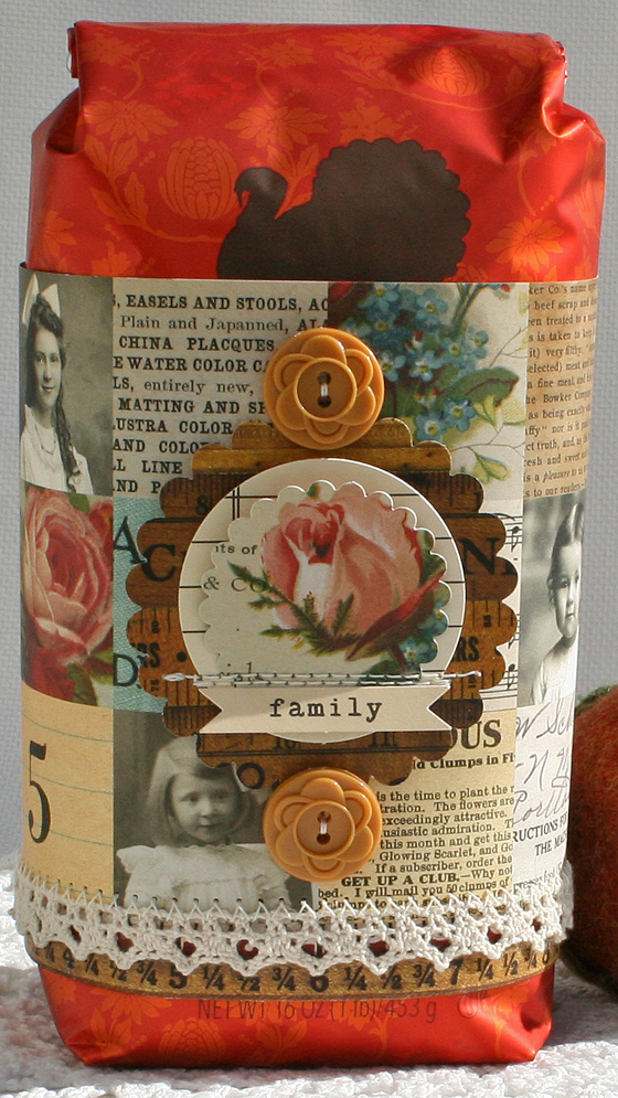 Thanksgiving starbucks coffee wrap danni reid