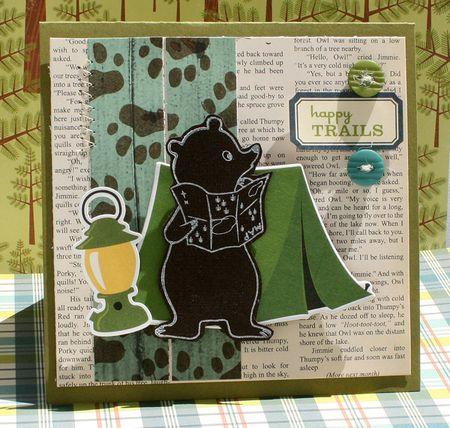Happy Trails Card by Danni Reid