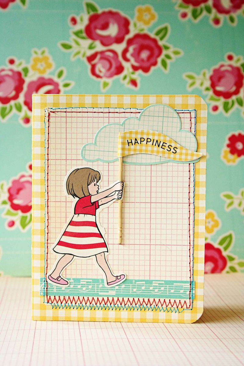 OA Little Flyers Happiness Card