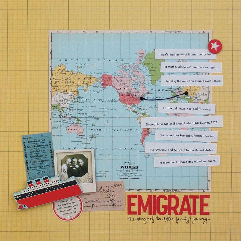Emigrate - Vivian Masket