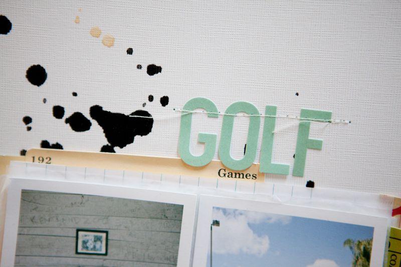 Golf closeup 2