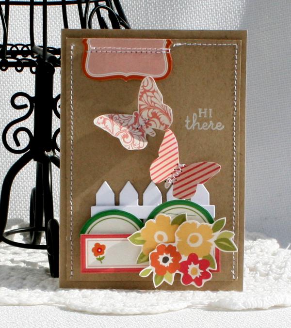 Spring hello card danni reid