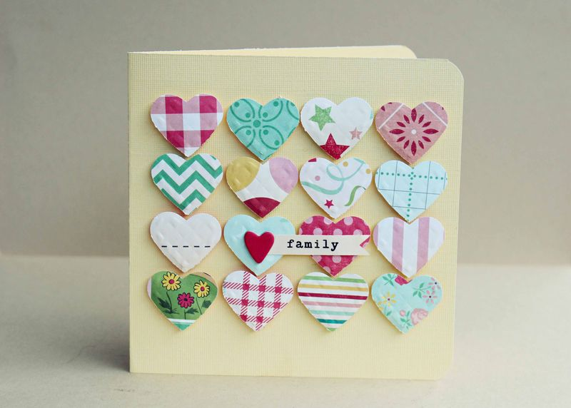 Heart of the Family Card