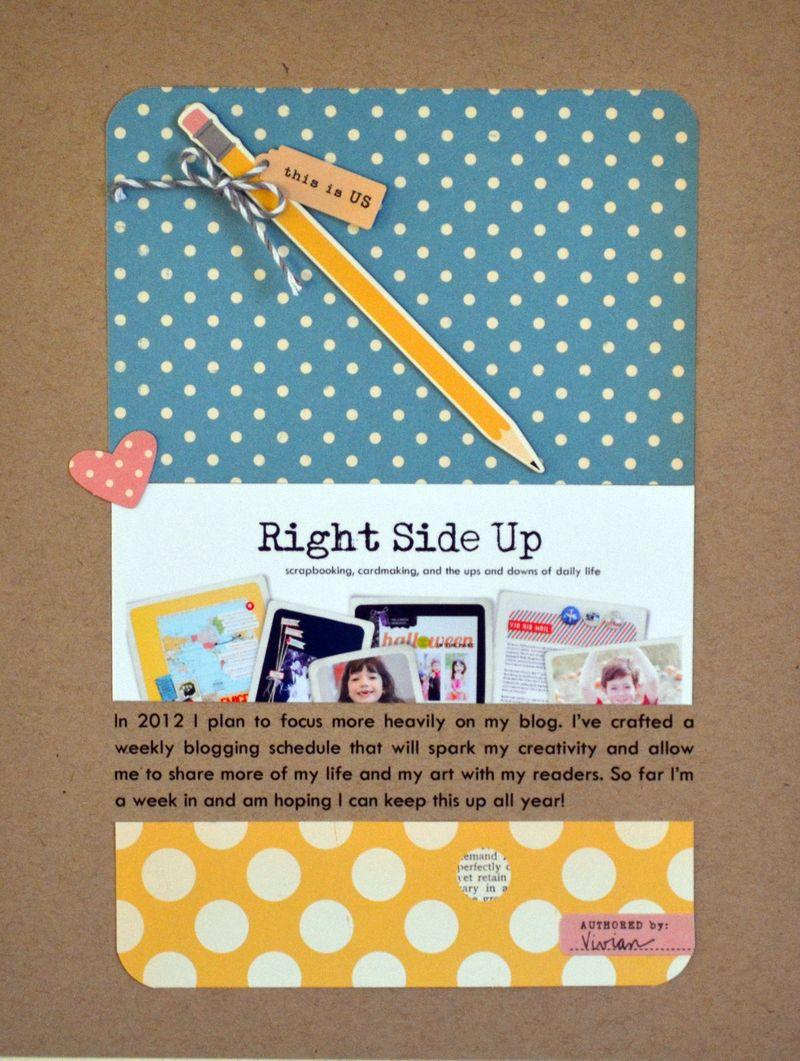 Right Side Up - Vivian Masket