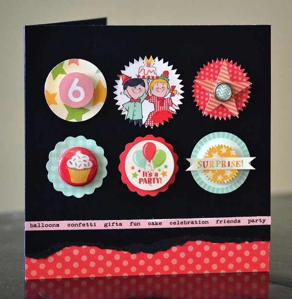 Cakewalk Vivian Card
