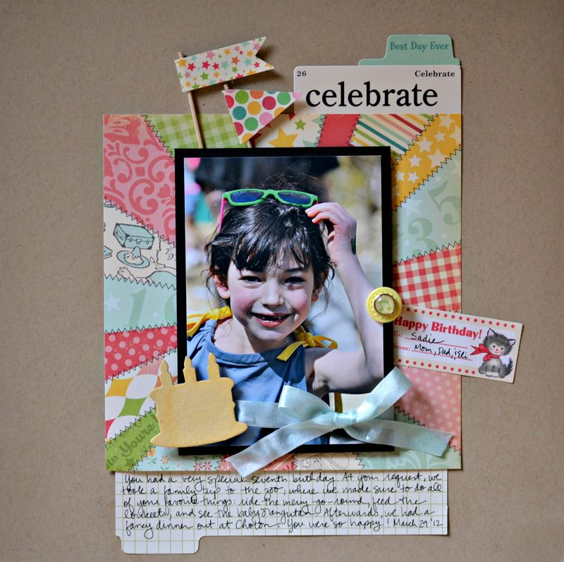 Celebrate June 28 2012 Blog Sketch Layout