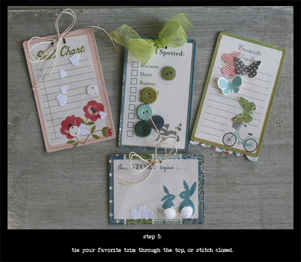 OA Woodland Park Journal Tags step 5 Danni Reid