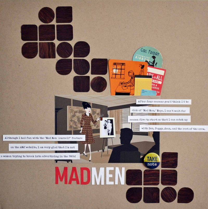 Mad Men Shapes Layout Vivian Masket