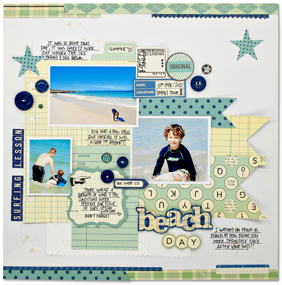 Kim Watson+Beach day+OA blog
