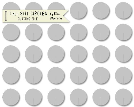 Kim Watson+1 inch dots with slits+OA