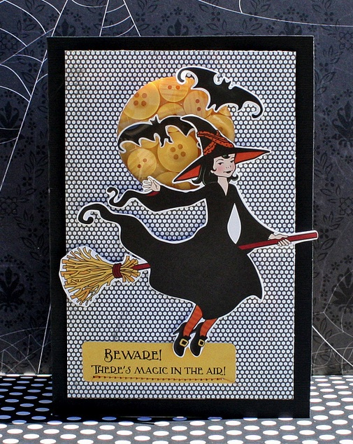 WH Danni witch card