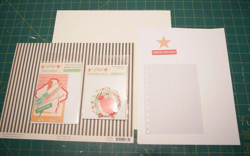 Pamphlet stitch tutorial
