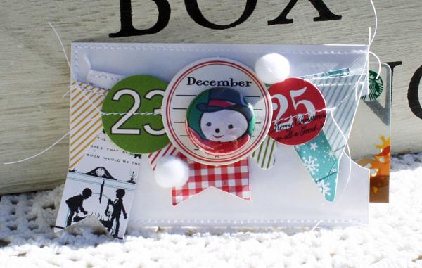 December gift card holder