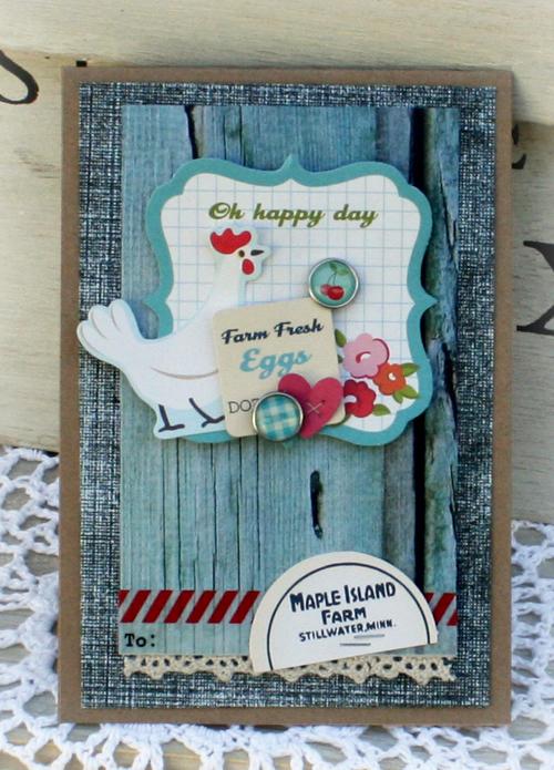 Oh happy day card danni reid