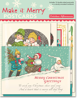 Postcard Pack - Make It Merry