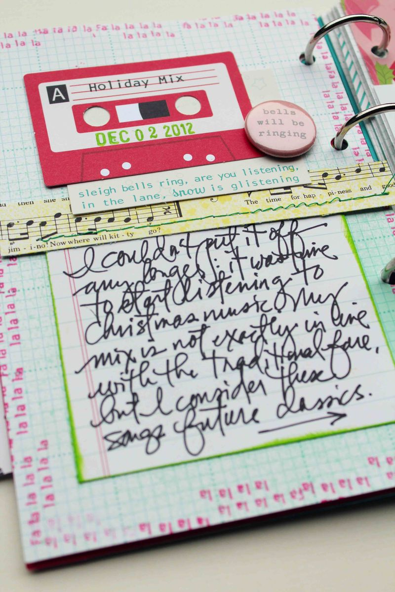 OA Album playlist journaling detail