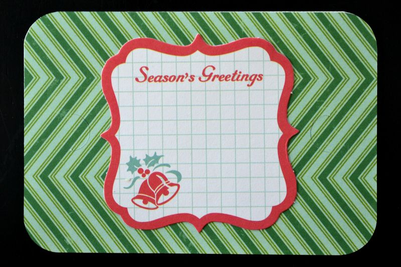 Make It Merry Gift Card Holder Insert - Vivian Masket