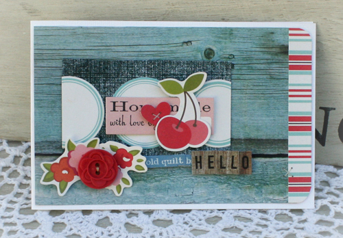 Hello card danni reid